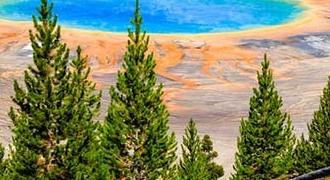 9-Day Yellowstone, Grand Teton, Glacier, Mt Rainier National Parks Tour from Vancouver with Airport Transfer
