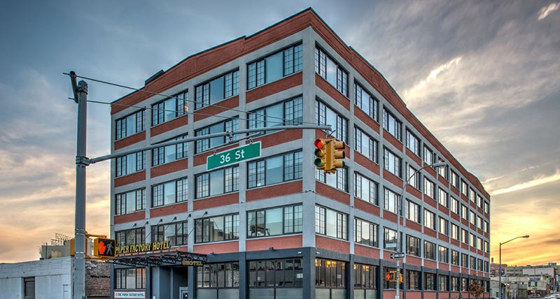 Paper Factory Hotel In Long Island City