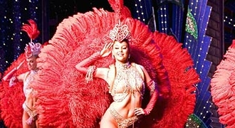2nd Show at the Moulin Rouge from Paris